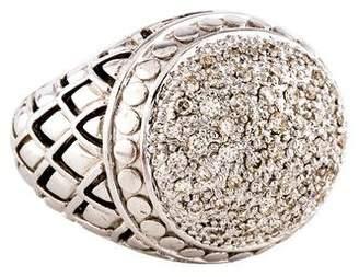 John Hardy Diamond Naga Pavè Dome Ring