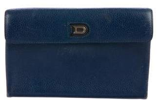 Delvaux Grained Leather Wallet