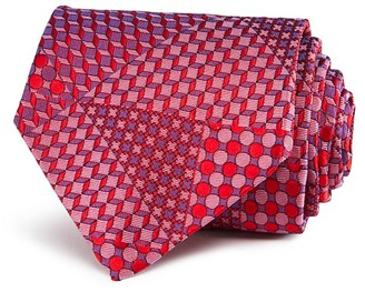 Turnbull & Asser Multi Geometric Classic Tie $195 thestylecure.com