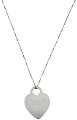 Tiffany & Co. Return To Tiffany Heart Tag Necklace $145 thestylecure.com