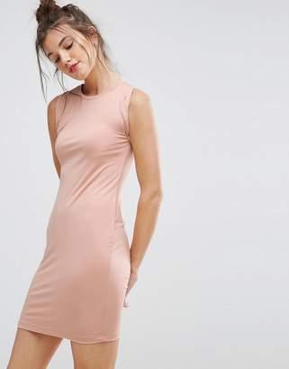 Asos DESIGN Sleeveless Mini Tank Dress with Twist Arm Detail