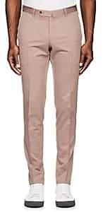 Pt01 Men's Virgin Wool-Cotton Super-Slim Trousers - Purple Size 36