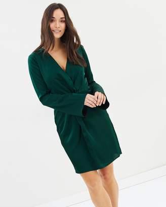 Cooper St Kathryn Twist Mini Dress