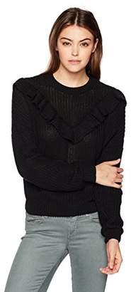 Blank NYC [BLANKNYC] Women's Ruffle Sweater