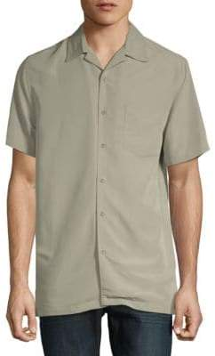 Saks Fifth Avenue Short-Sleeve Camp Button-Down Shirt