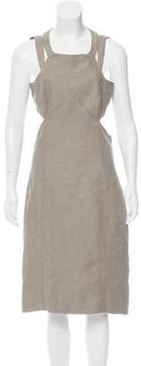 Proenza Schouler Cutout Midi Dress
