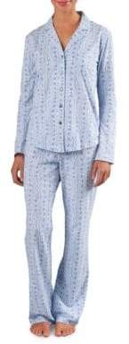 Naked Button-Front Pajamas