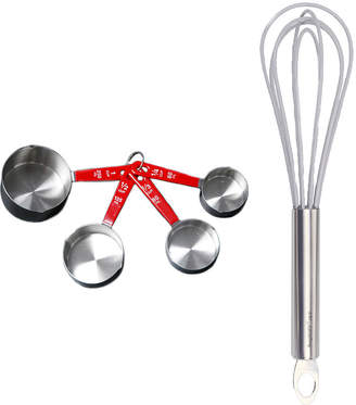 Berghoff Baking 5-pc. Whisk and Measuring Cup Set