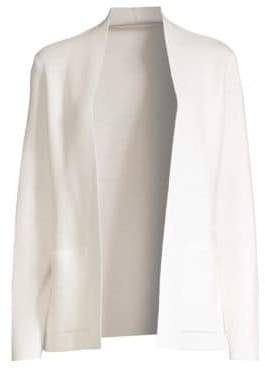 Agnona Merino Wool Open Cardigan