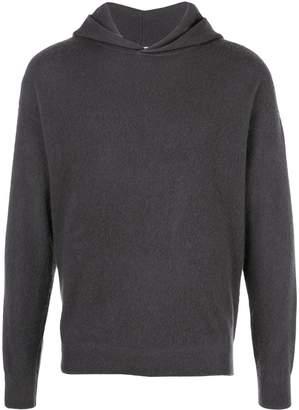 Massimo Alba textured style hoodie