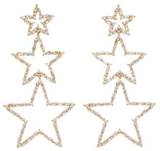 Fallon Star Drop Earrings