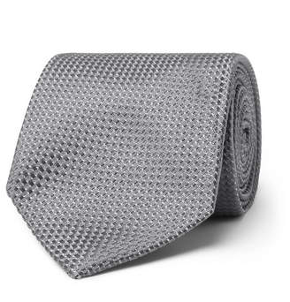 Tom Ford 8cm Silk And Cotton-Blend Jacquard Tie