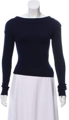Jacquemus Wool Long Sleeve Sweater