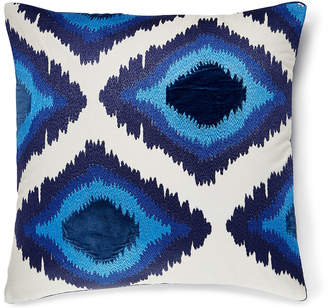 Lucky Brand 20X20 EMBROIDERED IKAT PILLOW