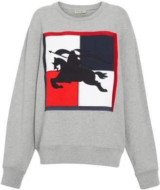 Burberry Chequer EKD Cotton Sweatshirt