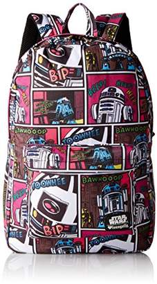 Loungefly Star Wars R2D2 Comic Print Back pack