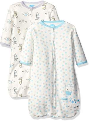 Bon Bebe Baby Best Friends Assorted 2 Pack Wearable Blanket