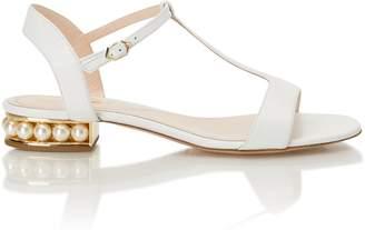 Nicholas Kirkwood Casati Strap Sandal in White Leather