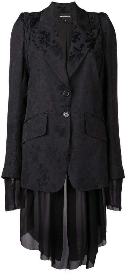 layered blazer