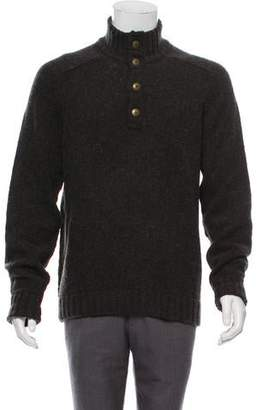 Vince Wool Mock Neck Sweater