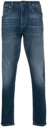 Tommy Jeans mock neck half zip pullover