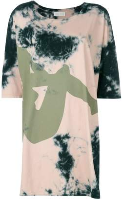 Faith Connexion oversized tie dye T-shirt