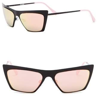 Steve Madden 50mm Metal Cat Eye Sunglasses