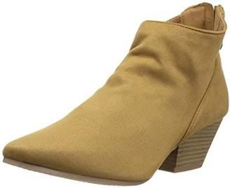 Qupid Women's Rhythm-01 Ankle Bootie
