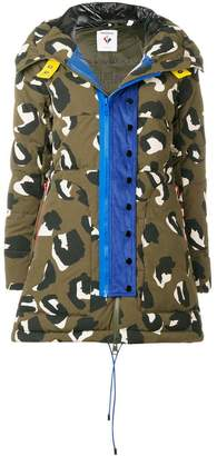 Rossignol camouflage print padded jacket