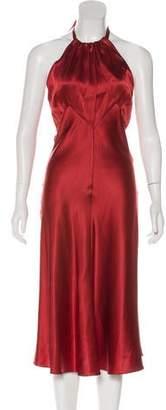 Miguelina Halter Evening Dress