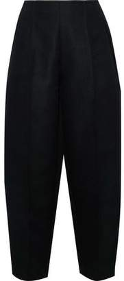 Acne Studios Maja Cropped Twill Tapered Pants