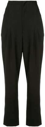 Alice + Olivia Alice+Olivia cropped pleated trousers