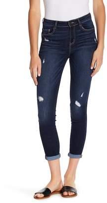 Jolt Rolled Knicking Skinny Jeans