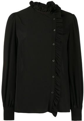 Miu Miu frill trim blouse