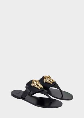 Versace Palazzo Flat Thong Sandals