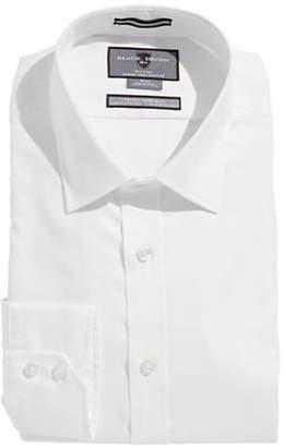 Black Brown 1826 Egyptian Cotton Slim Fit Dress Shirt