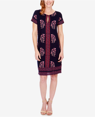 Lucky Brand Printed T-Shirt Dress $69.50 thestylecure.com