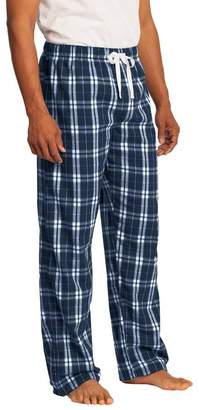 District Young Mens Flannel Plaid Pant, S