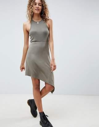 Asos Design DESIGN extreme racer mini dress