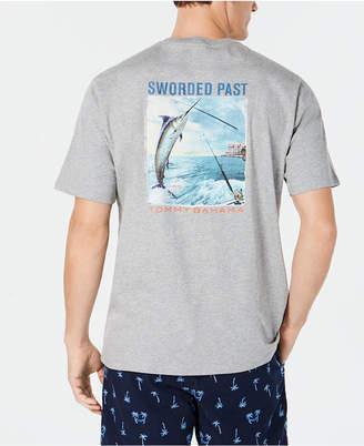 Tommy Bahama Men's Sworded Past Graphic Pima Cotton T-Shirt