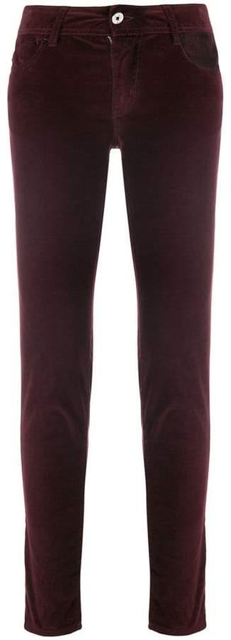 velour skinny jeans