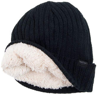 da32c6a9ed4c58 Dockers Faux Fur Lined Ribbed Beanie