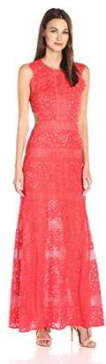 BCBGMAXAZRIA Azria Women's Merida Knit Evening Dress