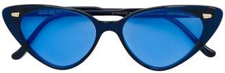 Cutler & Gross Ultra-fine cat-eye sunglasses