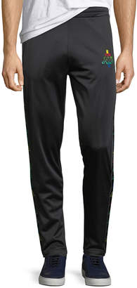 Marcelo Burlon County of Milan Multicolor Kappa Straight-Leg Jersey Sweatpants
