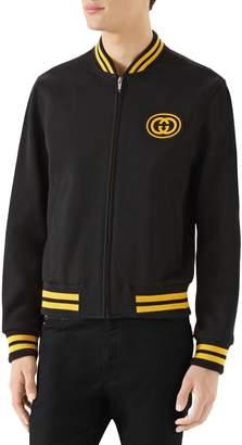 Gucci Jersey Varsity Jacket