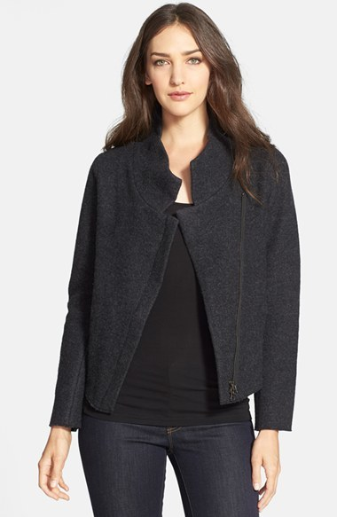 Eileen Fisher The Fisher Project Boiled Wool Jacket