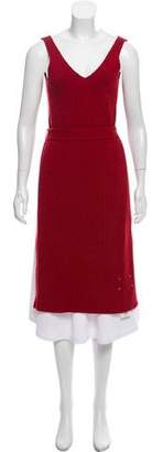Maison Margiela Wool Overlay Dress w/ Tags