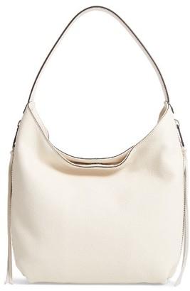 Rebecca Minkoff Medium Bryn Leather Hobo - White $275 thestylecure.com