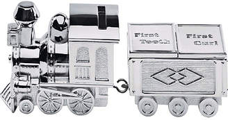 Little Star Silver Plated Train Money Box